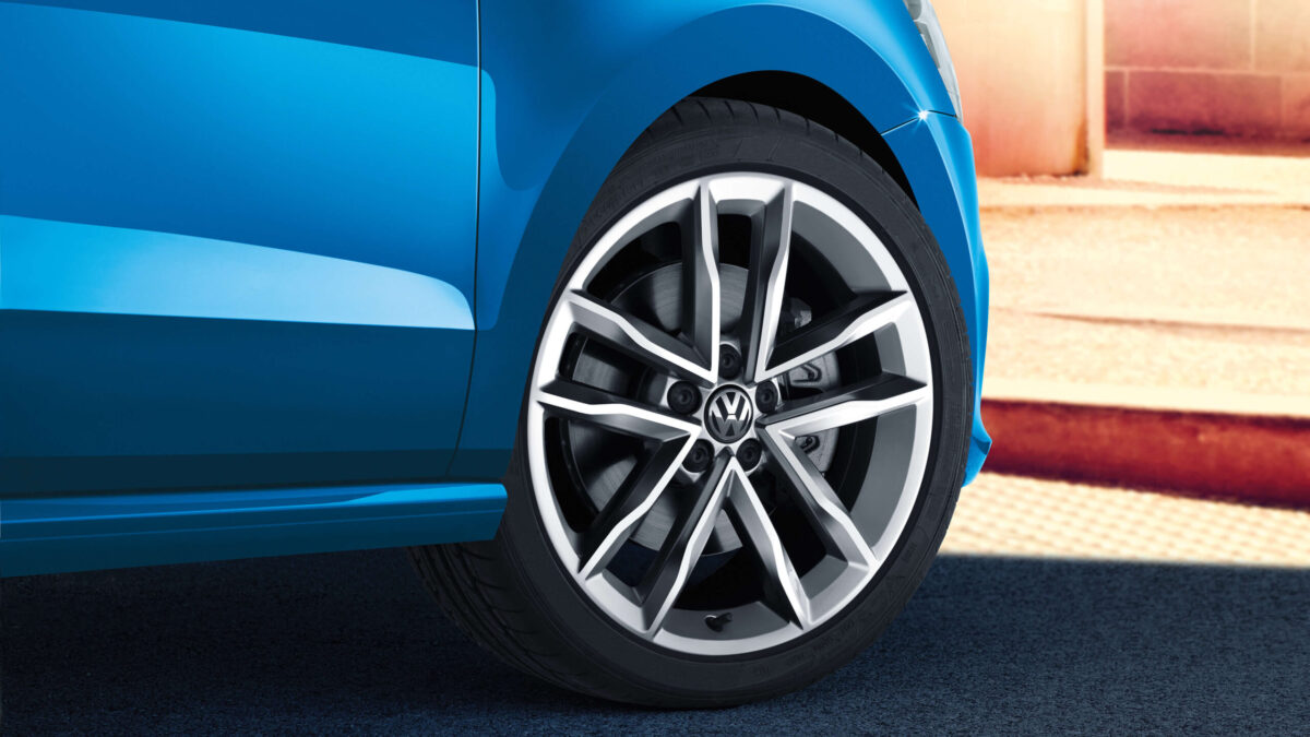 17-inch Mirabeau alloy wheels from Polo 6C OEM - teaser | 17 Mirabeau 6C0601025B 7Jx17H2 ET46 3 scaled