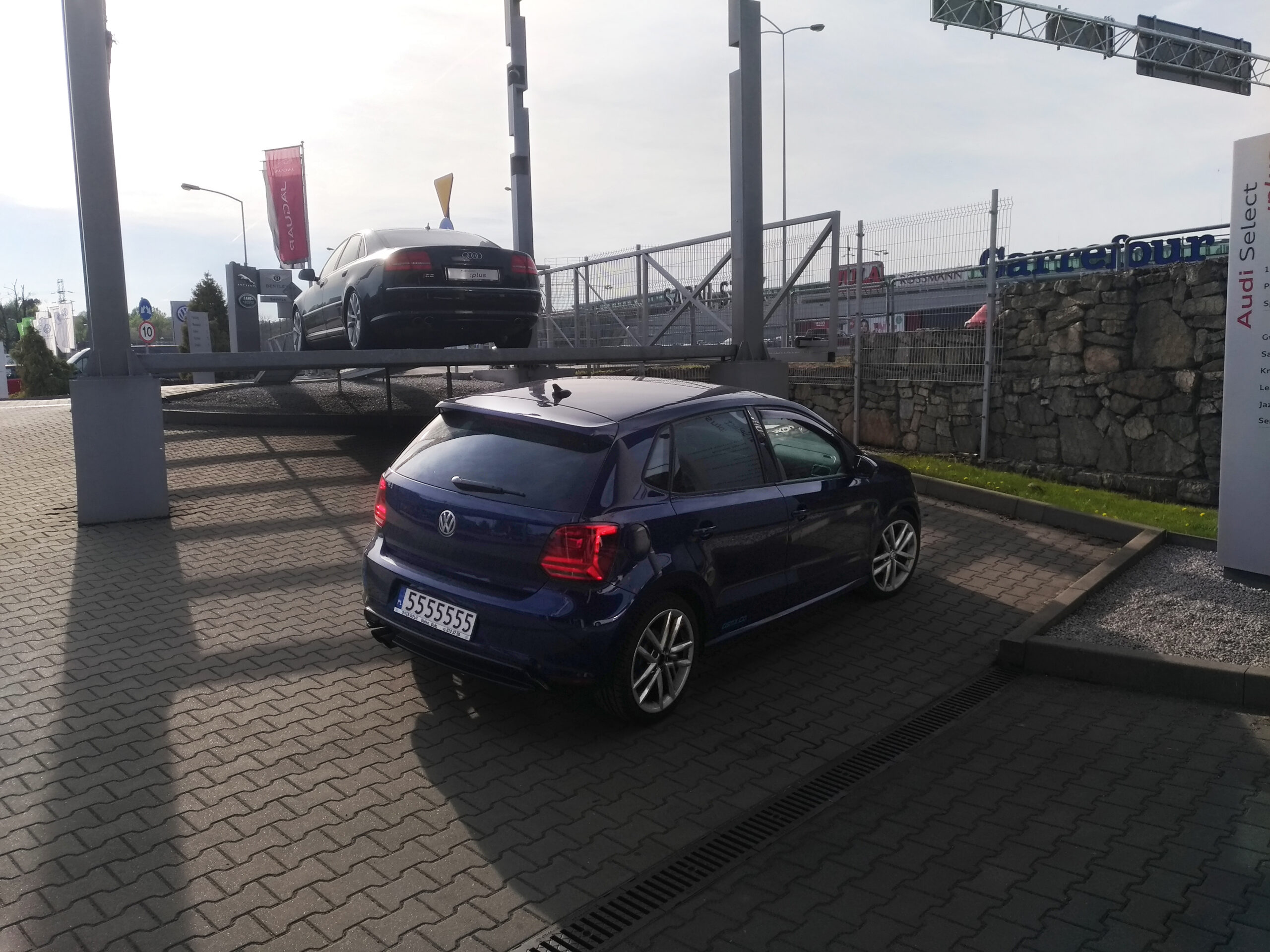 R-Line roof spoiler — Polo 6R R-Line / GTI / BlueGT/6C R-Line   P 20180427 172116 vHDR On Photoshop scaled