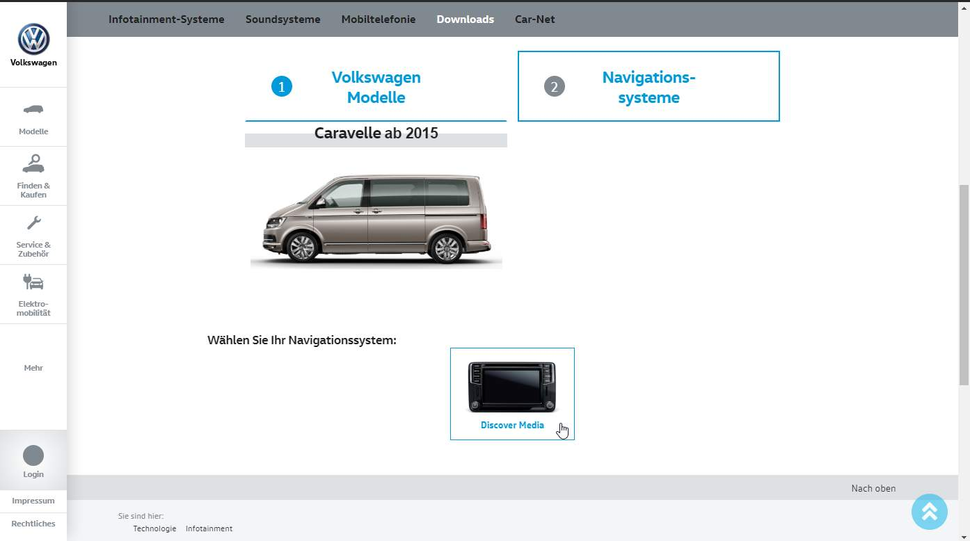 Discover Media — update maps to 2019/2020 (from official VW website)   pobieranie mapy 3