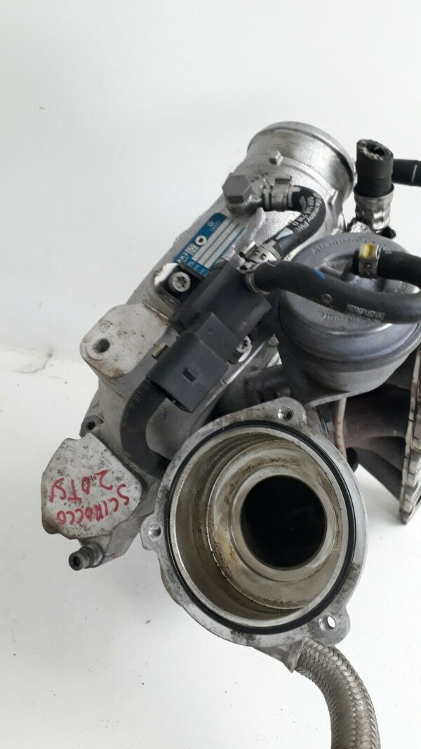2.0 TSI engine from Scirocco R - teaser   K04 064 2.0TFSI 3