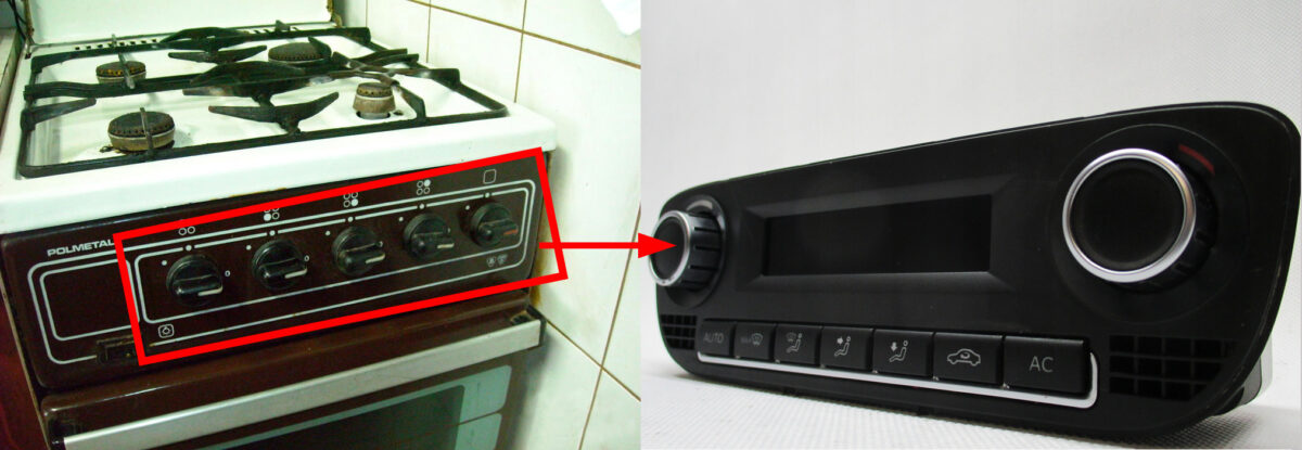 Switching Manual AC to Climatronic | gas stove switches