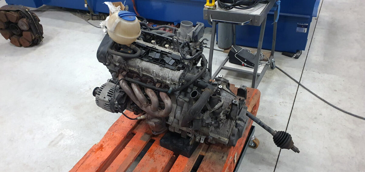 Old engine removed | 1.4 CGGB bye