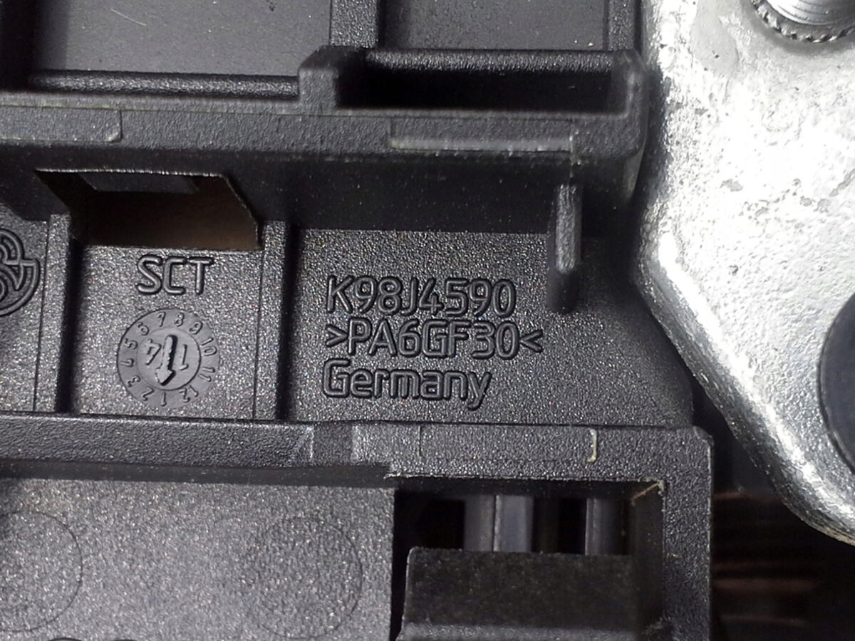 Bought some parts needed for battery relocation   6R0971227 Audi A1