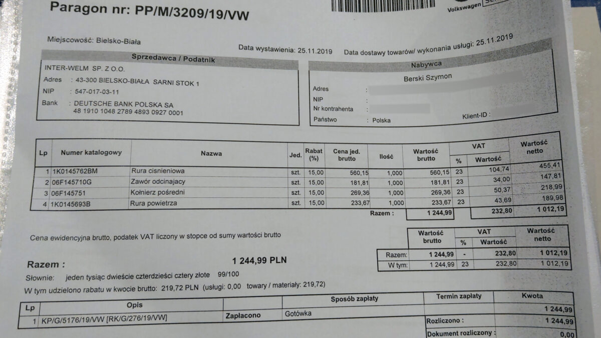 Several parts for the future engine | CDL parts costs IMAG1560