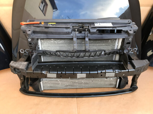 Cooling Pack (radiator, intercooler, fans)   Cooling pack Pas przedni chlodnice wentylatory VW POLO 6R GTI polo.blue