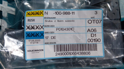 Bought some parts needed for battery relocation   N10098811 IMAG8710