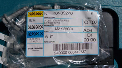 Bought some parts needed for battery relocation   N10109210 IMAG8714