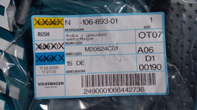 Bought some parts needed for battery relocation   N10689301 IMAG8713