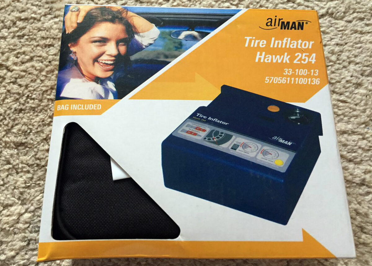 Mobile car air compressors | Tire Inflator Hawk 254 by AirMan 5